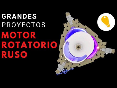 RUSO  Motor ROTATORIO Liquid Piston   [V:200318]