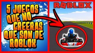 5 GAMES YOU WON'T BELIEVE ARE FROM ROBLOX