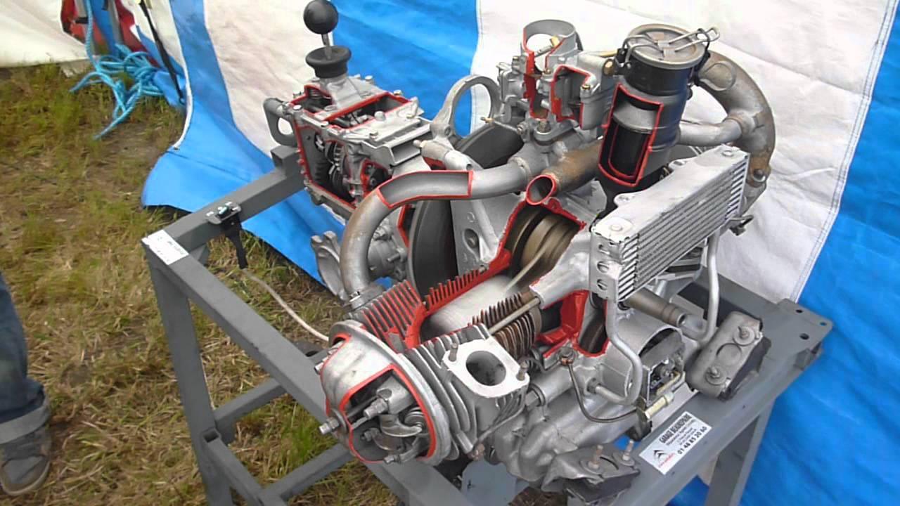 citroen 2cv moteur