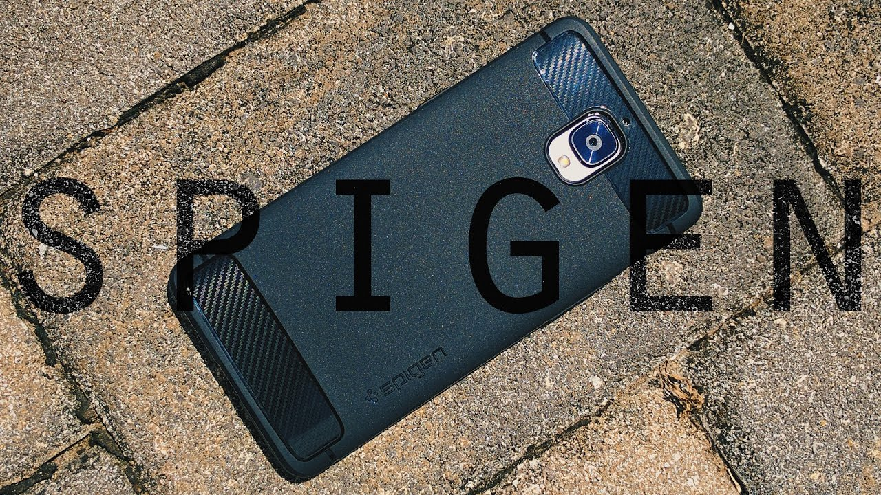 buy popular a1b87 62848 OnePlus 3 Spigen Rugged Armor Review!