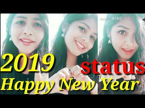 Happy new year 2019 full screen whatsapp status