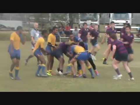 Rugby - Suva Grammar Sch. vs Brisbane State High Sch.