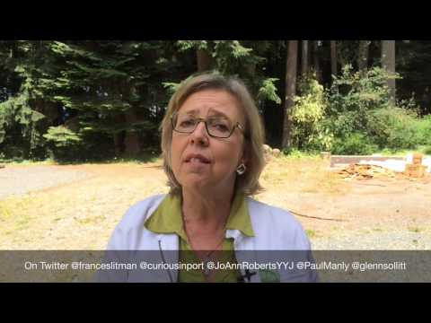 Elizabeth May talks about defending Vancouver Island communities