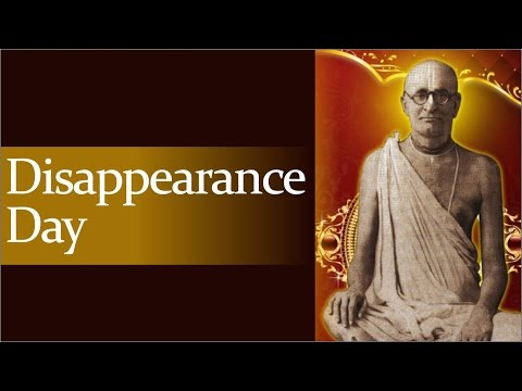Disappearance Day of Srila Bhaktisiddhanta Sarasvati Thakur by Bhakti Charu Swami at ISKCON Mayapur