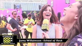 Kids Choice Sports Awards interview with Jama Williamson