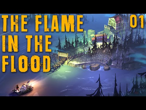 "THE FLAME IN THE FLOOD Part 01 - ""Cold, Wet, & Tired...and I LOVE IT!!!"" Beta gameplay walkthrough"