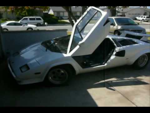 lamborghini countach replica 1986 youtube. Black Bedroom Furniture Sets. Home Design Ideas