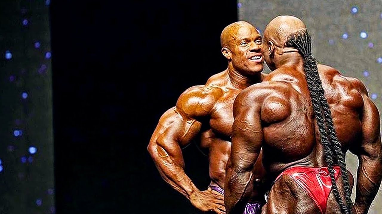 Download COMPETITION MAKES YOU STRONGER - Phil Heath and Kai Greene