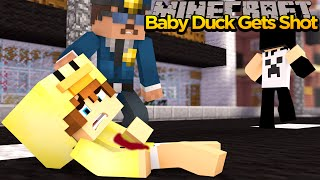 MINECRAFT - BABY DUCK STOPS A ROBBERY!!!