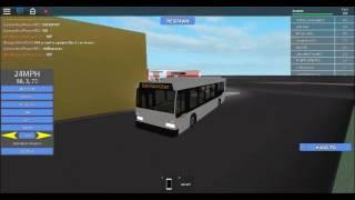 ROBLOX Subway Testing Metro Bus line 22