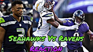 OMG‼️ Lamar Jackson Just Beat The MVP @Home🤦 I'm Disappointed In Seattles Defensive Coaching ‼️