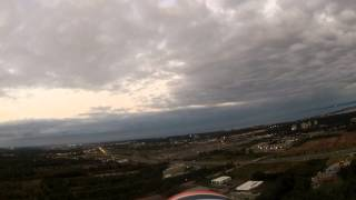 Flying the Flyzone DHC-2 Beaver at dusk with Go-Pro