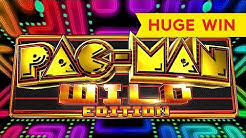 JACKPOT GAME VICTORY! Pac-Man Wild Edition Slot - ALL FEATURES!