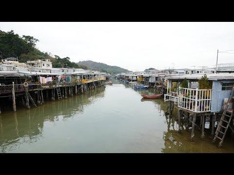 Tai O Village in Hong Kong