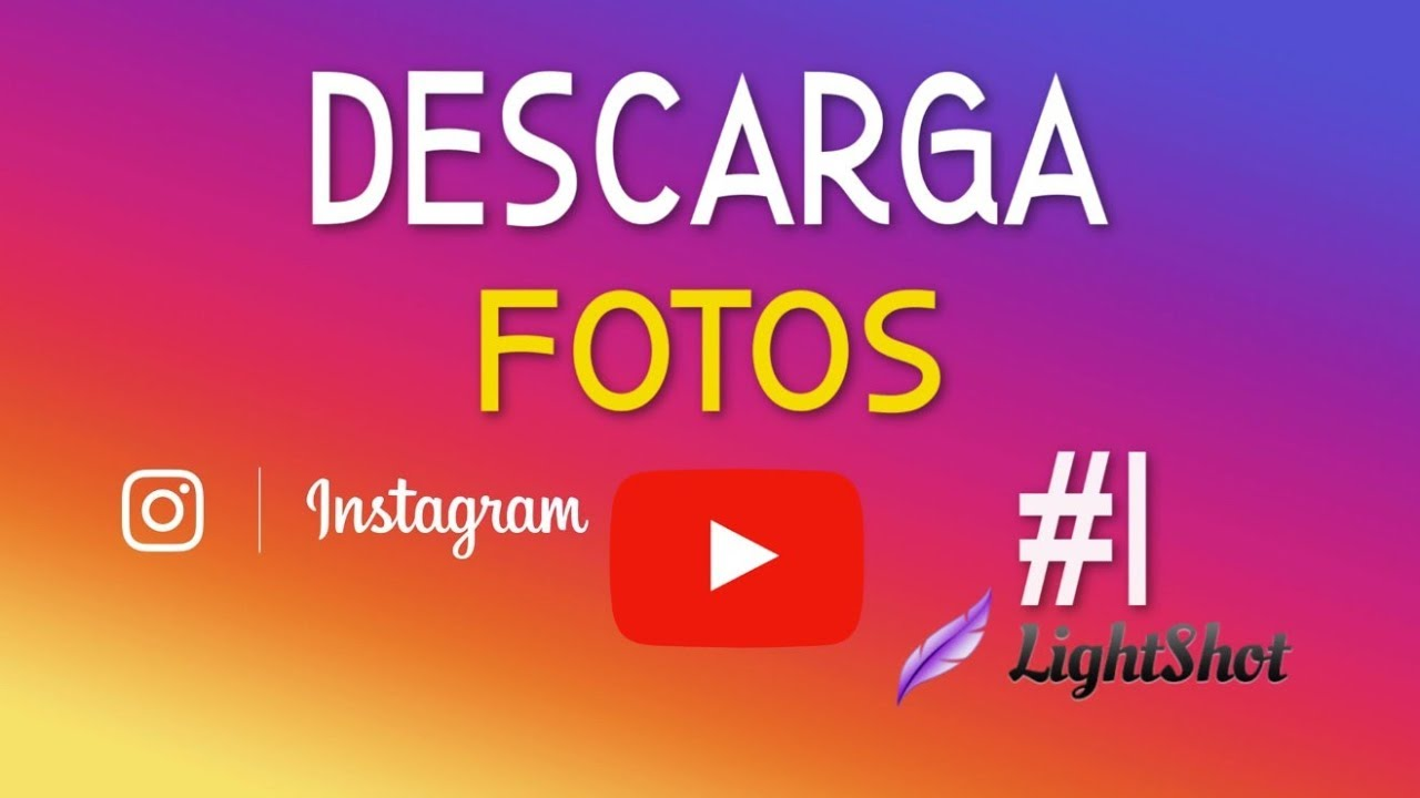 descargar fotos de instagram firefox