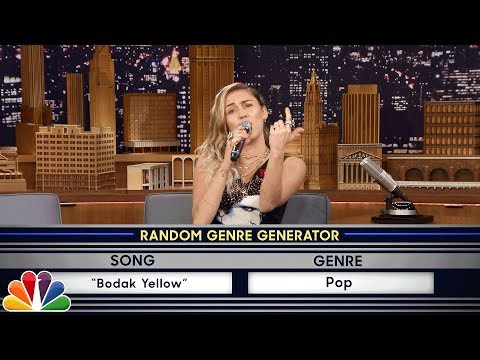 Download Youtube: Musical Genre Challenge with Miley Cyrus