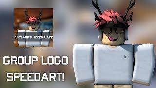 ROBLOX SKYLARK'S HIDDEN CAFE GROUP LOGO GFX SPEEDART!!
