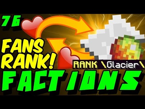 Buying Fan Top Highest Rank Max Rank Quest Opening Minecraft Factions Cosmic Pvp Ice Pla