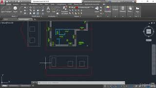 Tutoriel AutoCAD 2019 : Créer la façade sud | video2brain.com