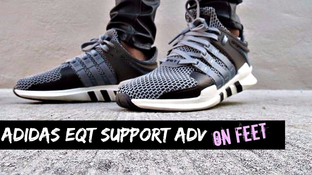 big sale 73eeb 9a83a adidas eqt on foot