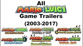 All Mario & Luigi Game Trailers (2003-2017)