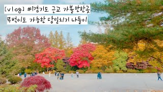 [Vlog] |경기도 근교 가볼만한곳/당일치기/가족나들…