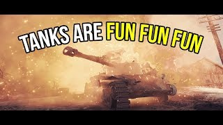 WORLD OF TANKS IS A FUN, FREE TO PLAY GAME - I RECOMMEND IT TO ALL MY FRIENDS!