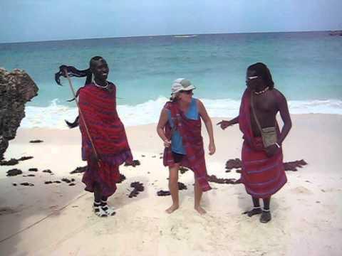 Masai Warrior dancing