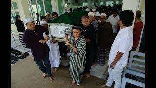Jenazah Allahyarham Zainuddin dibawa ke Kuala Lumpur