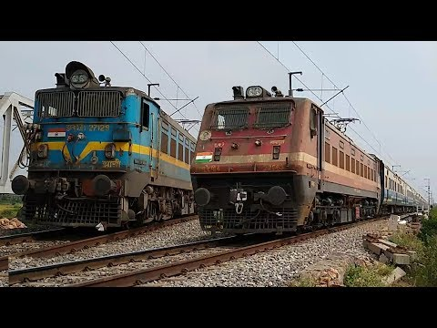 END Of Single Line Section Trains | Guntur - Tenali Doubling & Electrification Complete | IR
