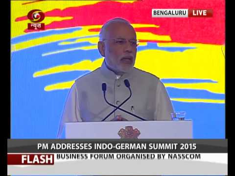 FULL EVENT: PM Modi and German Chancellor at Indo German Summit 2015