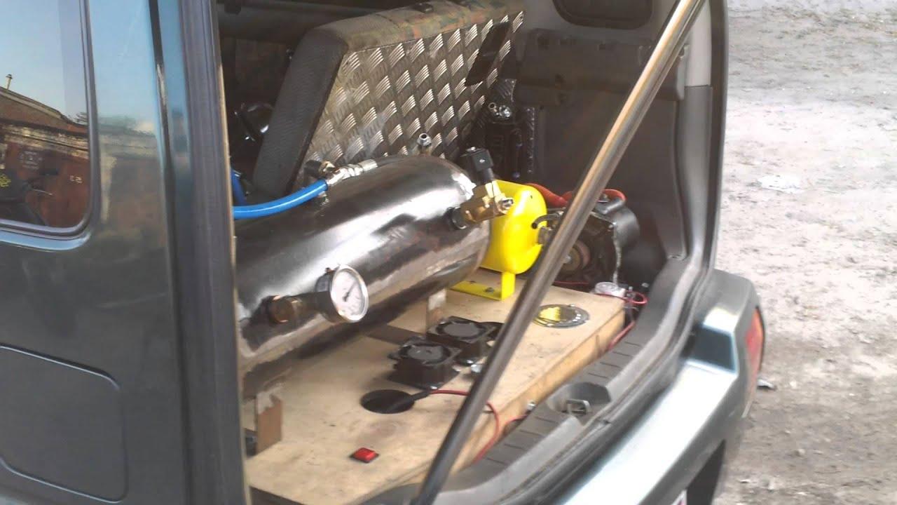 Suzuki паровозный гудок на автомобиле