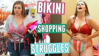 Bikini Shopping Struggles! Curvy Girl Problems! || Sierra Schultzzie