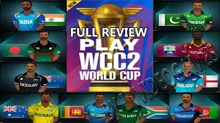 WCC2 Cricket World Cup 2019 Update full review New real Jersey  Vip Stadium 2.8.7 update