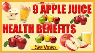 9 Apple Juice Health Benefits