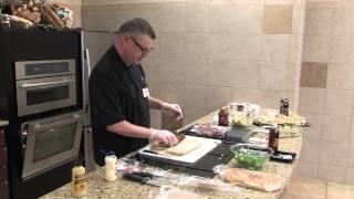 Recipe: Openfaced Apple Butter Pastrami Sandwich