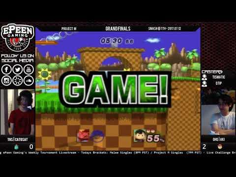 Smash @ TTH - TNS   Catosat (Ivysaur) Vs. GHQ   Aki (Ness/Lucas) - Project M (Grand Finals + Reset)