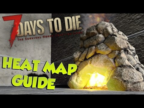 7 Days to Die Heat Map Guide |What is it & how its generated| 7 Days to Die Heat Map System Tutorial