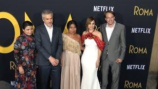 Hablan los protagonistas de Roma y el director Alfonso Cuarón