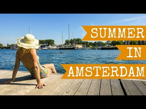 Summer in Amsterdam, Holland the Netherlands in Full HD - 2015