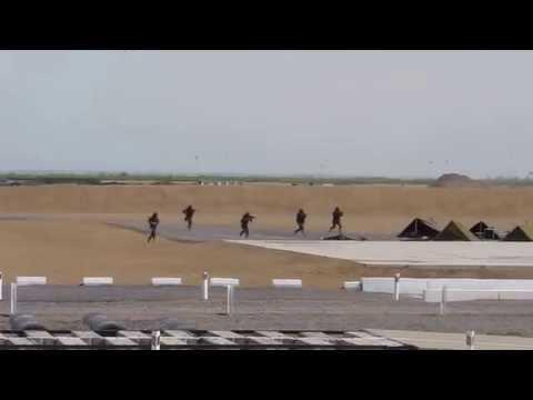 Kadex 2014 Exhibition combat show