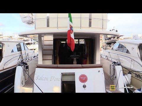 2018 Cantieri Estensi Yachts 535 Maine Yacht - Walkaround - 2018 Cannes Yachting Festival