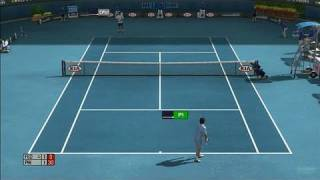 Top Spin 3 Xbox 360 Gameplay - Hard Court