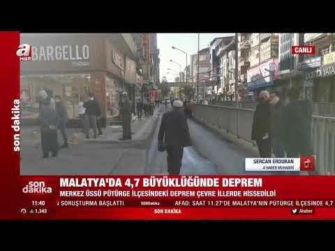 SON DAKİKA: Malatya'da Korkutan Deprem! Elazığ'da da Hissedildi!