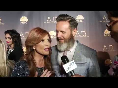Lingk2us talks to the cast of 'A.D. The Bible Continues.' Part 1