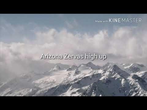 Arizona Zervas high up