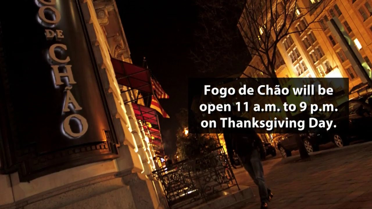 Restaurants Open Thanksgiving Day 2017 Youtube