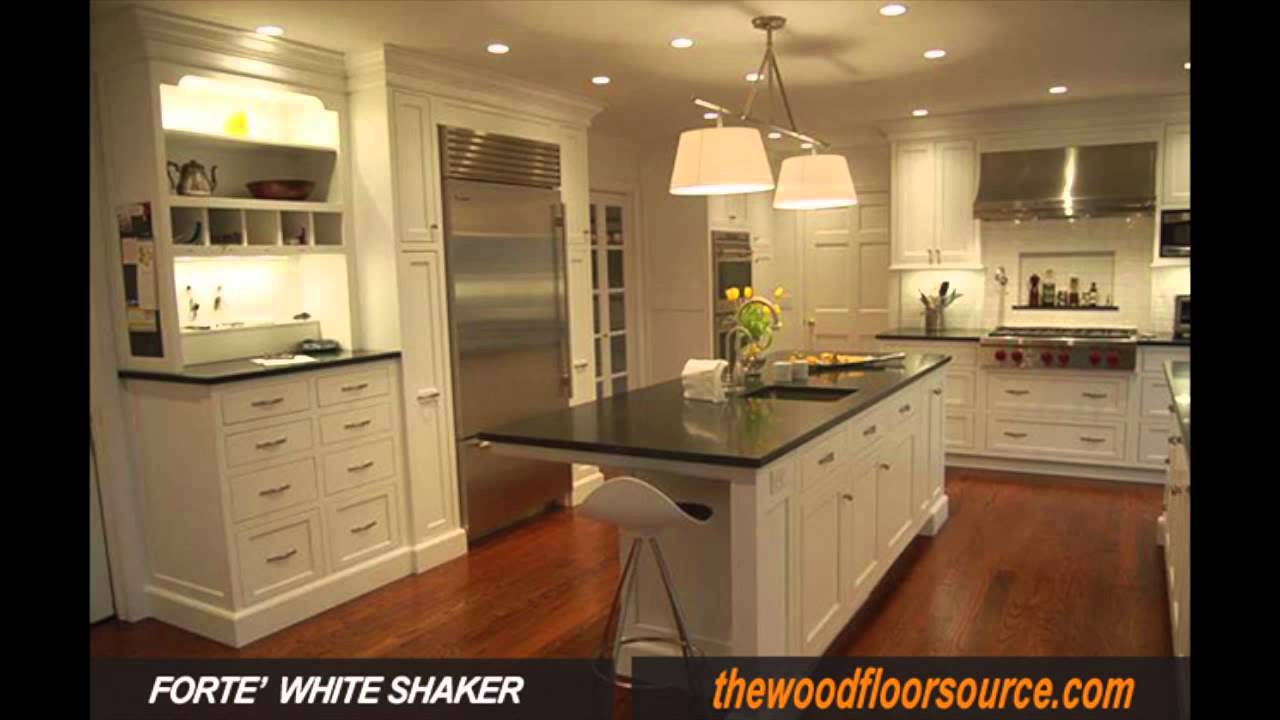 White Kitchens Shaker Cabinets