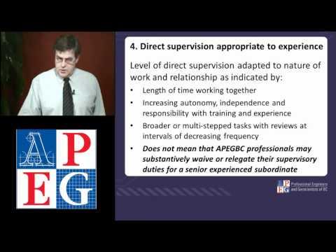 APEGBC Quality Management Guidelines - Seminar No. 3