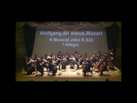 Mozart :A  Musical Joke K.522 1mov